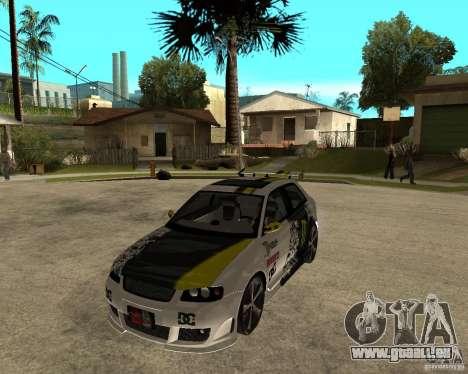 Audi S3 Monster Energy pour GTA San Andreas