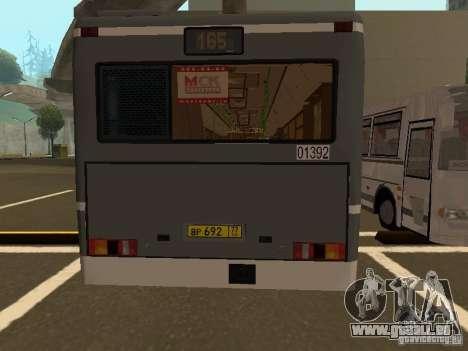 MAZ-107.066 für GTA San Andreas Seitenansicht