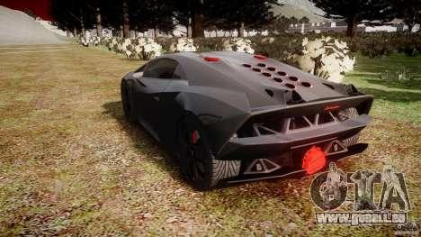 Lamborghini Sesto Elemento 2011 pour GTA 4 est un côté