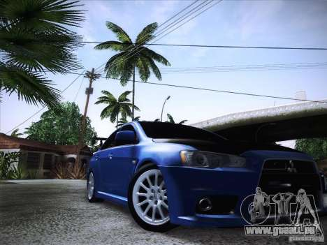 Mitsubishi Lancer Evolution Drift Edition für GTA San Andreas