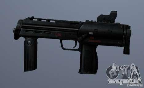 MP7 pour GTA San Andreas troisième écran