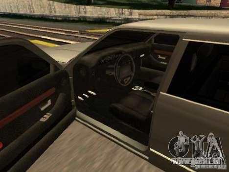 HD Stretch pour GTA San Andreas sur la vue arrière gauche