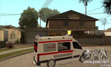 Volkswagen Crafter Ambulance für GTA San Andreas rechten Ansicht