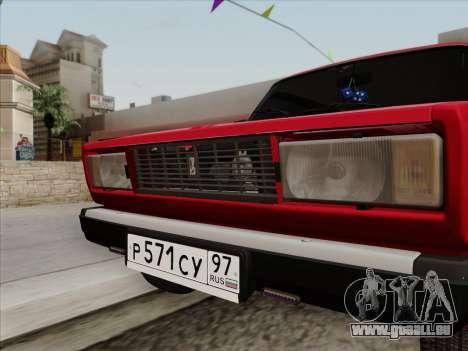 VAZ 21054 pour GTA San Andreas vue de droite