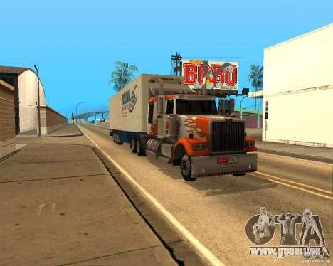 Western Star 4900EX v 0.1 pour GTA San Andreas laissé vue