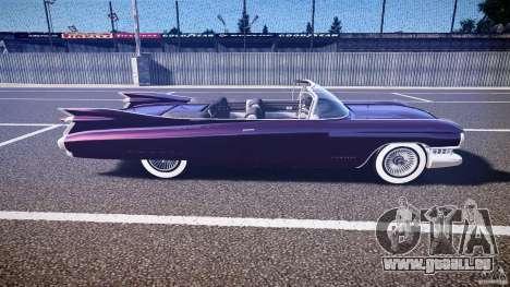 Cadillac Eldorado 1959 interior black für GTA 4 Seitenansicht