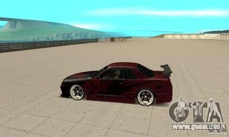 Nissan Skyline R32 Drift Edition pour GTA San Andreas laissé vue