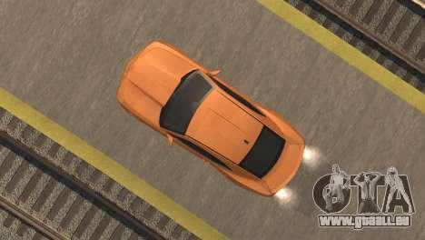 Chevrolet Camaro SS 2010 v2.0 Final für GTA San Andreas Rückansicht