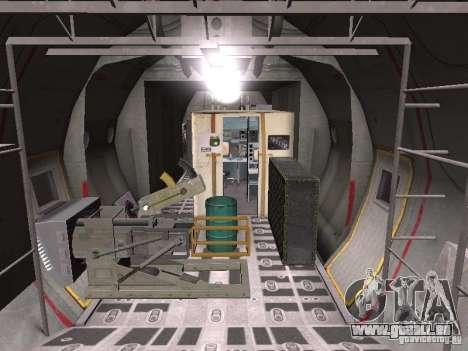 AC-130 Spooky II pour GTA San Andreas vue arrière