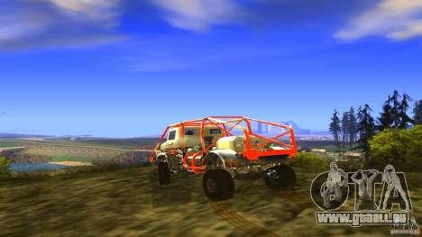 Insane 2 pour GTA San Andreas vue de côté