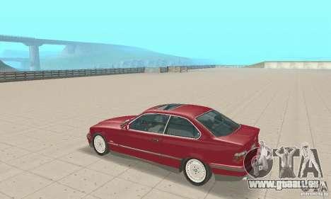 BMW 325i Coupe pour GTA San Andreas vue de droite