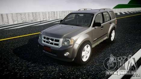 Ford Escape 2011 Hybrid Civilian Version v1.0 pour GTA 4
