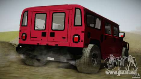 Hummer H1 Alpha Off Road Edition für GTA San Andreas linke Ansicht