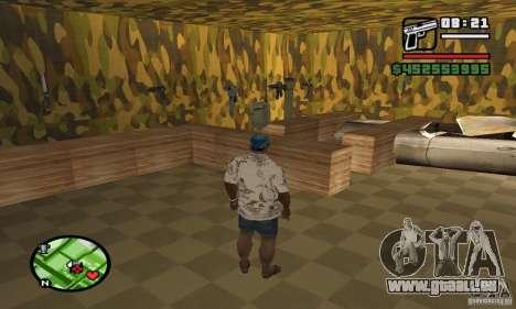 Gun Shop auf Grove für GTA San Andreas her Screenshot