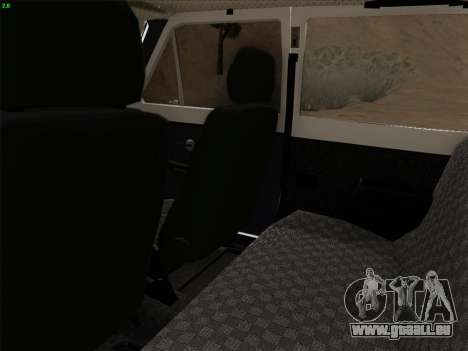 VAZ 2121 Niva pour GTA San Andreas vue intérieure