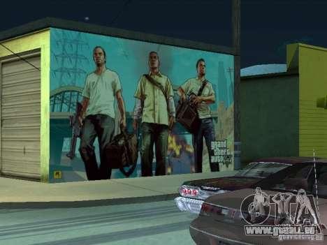 Poster de GTA V pour GTA San Andreas cinquième écran