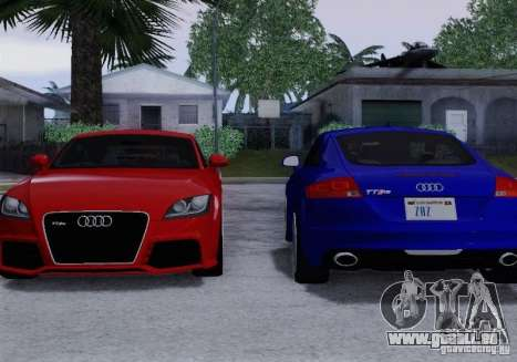 Audi TT-RS Coupe pour GTA San Andreas salon