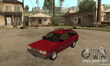 VW Parati GL 1994 pour GTA San Andreas