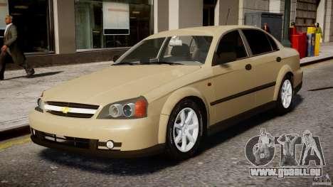 Chevrolet Evanda pour GTA 4 est une gauche