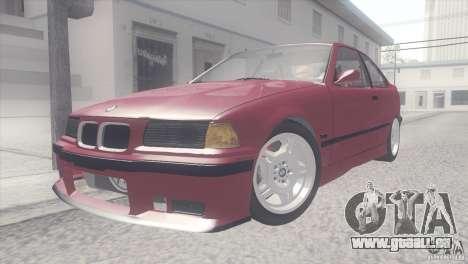 BMW e36 M3 Compact für GTA San Andreas