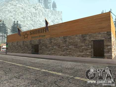 Mis à jour le village de Angel Pine pour GTA San Andreas deuxième écran