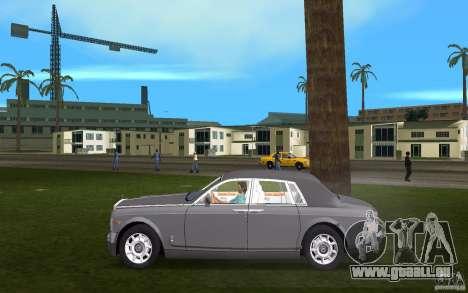 Rolls Royce Phantom für GTA Vice City linke Ansicht
