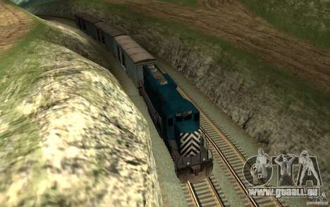 San Andreas Beta Train Mod für GTA San Andreas