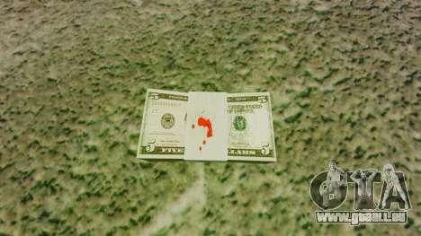 L'encours des billets en coupures de 5 $ aux Éta pour GTA 4