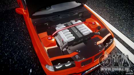 BMW E36 Alpina B8 pour GTA 4 Vue arrière
