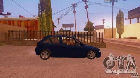 Volkswagen Gol G4 pour GTA San Andreas vue de droite