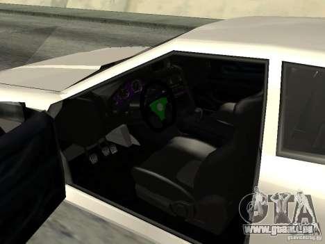 Elegy 29-13 pour GTA San Andreas vue arrière