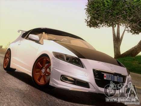 Honda CR-Z Mugen 2011 V2.0 für GTA San Andreas Unteransicht