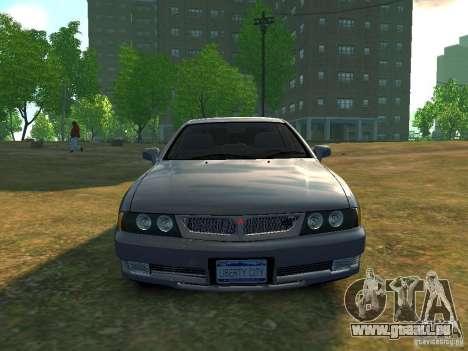 Mitsubishi Diamante v2.0 pour GTA 4 Vue arrière