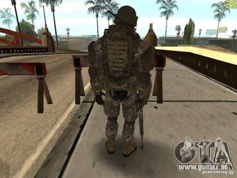 Combattre les soldats de CoD : Mw2 pour GTA San Andreas troisième écran