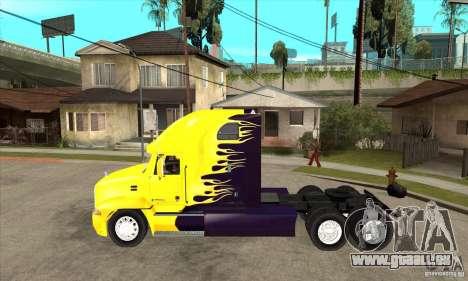 Mack pour GTA San Andreas sur la vue arrière gauche