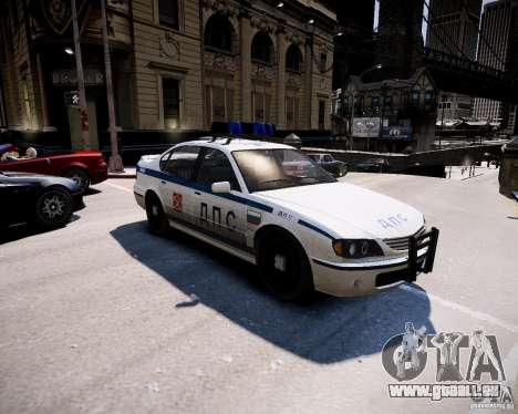 Russian Police Patrol für GTA 4 linke Ansicht