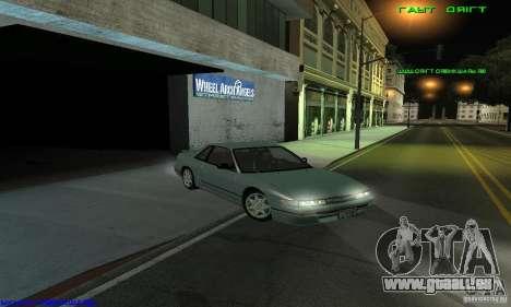 Nissan Silvia S13 Tunable pour GTA San Andreas sur la vue arrière gauche