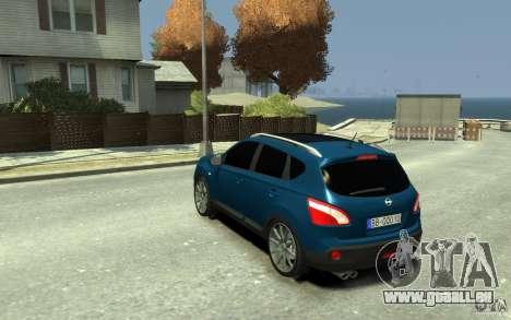 Nissan Qashqai 2010 für GTA 4 hinten links Ansicht