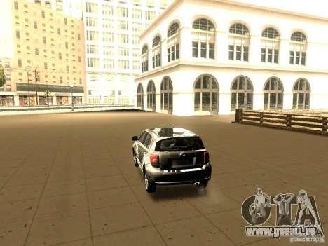 Scion xD pour GTA San Andreas laissé vue