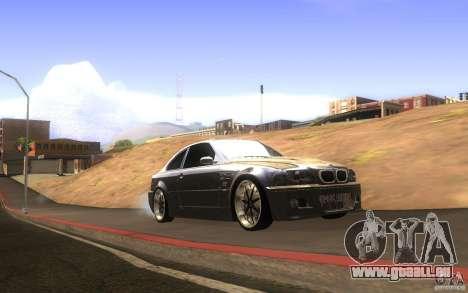 BMW M3 E46 V.I.P für GTA San Andreas Innenansicht
