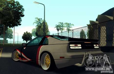 Nissan 300ZX Bad Shark für GTA San Andreas Motor