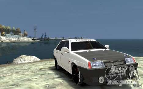VAZ 21099 für GTA 4 Rückansicht