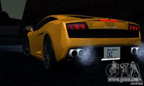 Lamborghini Gallardo LP560-4 pour GTA San Andreas vue de côté
