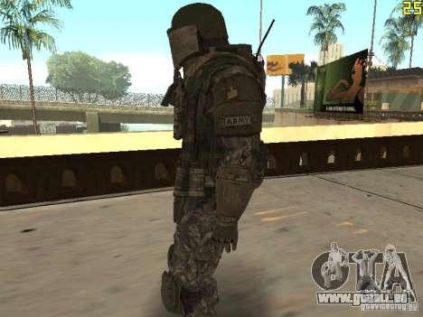 Combattre les soldats de CoD : Mw2 pour GTA San Andreas deuxième écran