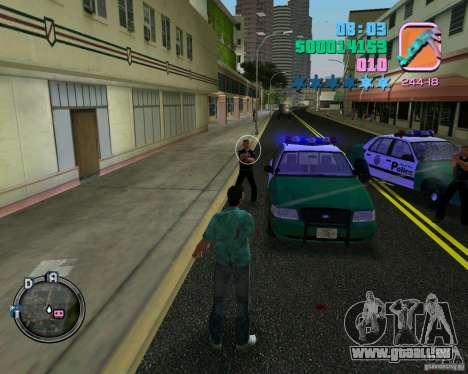 Neue Kleidung Bullen für GTA Vice City sechsten Screenshot
