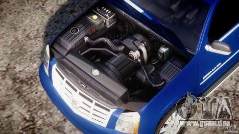 Cadillac Escalade [Beta] für GTA 4 Rückansicht