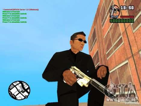 Gun Pack by MrWexler666 für GTA San Andreas achten Screenshot