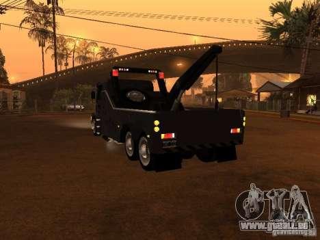 Scania 112H Gruas Fenix pour GTA San Andreas sur la vue arrière gauche