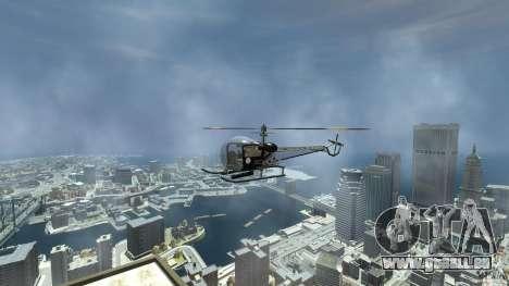 Sparrow Hilator für GTA 4 rechte Ansicht