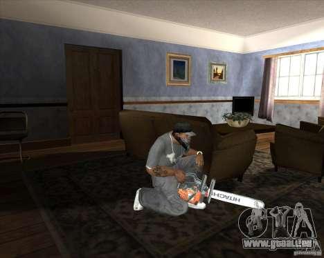 Neue Kettensäge für GTA San Andreas dritten Screenshot